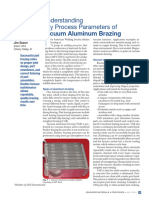 Understanding Key Process Parameters of Vacuum Aluminum Brazing