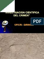 Investigacion Cientifica Del Crimen