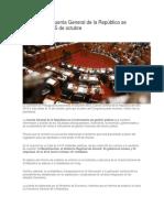 Dictamen de Cuenta General de la República se presentará el 15 de octubre.docx