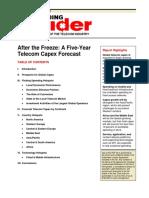 Capex Forecast - Telecommunication