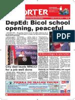Bikol Reporter June 10 - 16, 2018 Issue