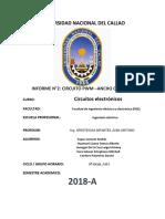 informe n°2- circuitos electronicos