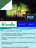 72864427 Benetton Supply Chain Management
