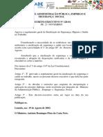 Decreto 128_2004 Sobre Señalización