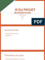 Exemple de Business Plan Powerpoint Pour Start Up