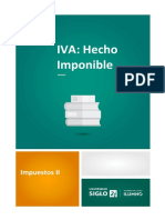 3-IVA Hecho Imponible