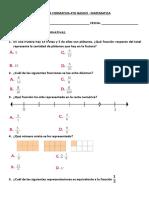 Formativa Matematica 4to Basico - Fracciones y Decimales.1