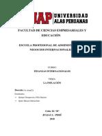 Finanazas- Inflación