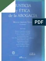 """HORTAL Alonso, Augusto, """"Justicia, profesiones y profesión de abogado"""""""