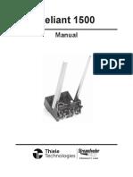 Streamfeeder Reliant R1500-Manual