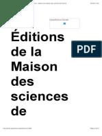 Patrimoines en folie - Paysage, rhétorique et patrimoine - Éditions de la Maison des sciences de l'homme