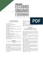 ACSELRAD Discursos Sustentabilidade Urbana COMPANS Global Cities