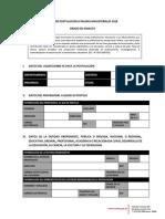 Ficha Postulacion Amauta 2018