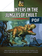 Encounters in the Jungles of Chult - D&D 5th