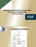 Implantação de Planejamento e Controle
