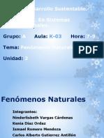 Fenómenos Naturales K-3