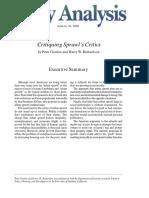 GORDON, P. & H. RICHARDSON - Critiquing Sprawl's Critics