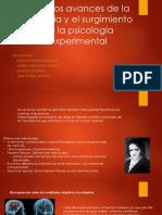 Primeros Avances de La Fisiología y El Surgimiento