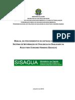 Manual de Procedimentos de Entrada de Dados Do Sisagua 08-01-2016 1
