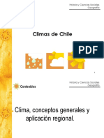 6to Básico. Climas de Chile