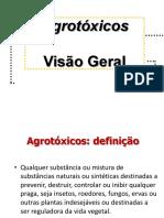 Agrotoxicos Visão Geral