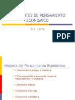 Corrientes de Pens Amien to Econ Mico