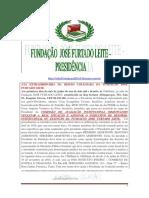 Prt 948678 Ata Extraordinária Da Fundação José Furtado Leite.