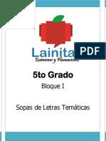 5to Grado - Bloque 1 - Sopa de Letras.pdf