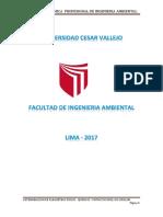 MUESTREO Y DETERMINACION DE  PARAMETROS FISICOS – QUIMICOS Y NITRATOS EN EL RIO CHILLON – PUENTE PIEDRA