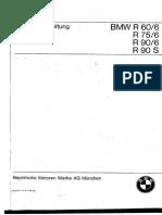 BMW R-60-6 R75-6 R90-6 R90-S Manual Taller 0248