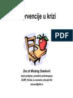 02 Intervencije u Krizi - Proces Intervenisanja