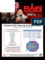 WWE RAW Group Flyer 9e984bb3cd