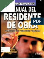 Manual Residente de Obra