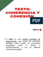 Cohesion y Coherencia Textual