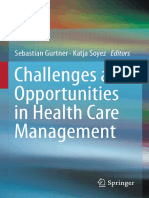 Challenges and Opportunities in Health Care Management, 2015