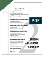 Building a Classroom Comunity