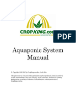 22Crop-King Complete Aquaponic System Manual