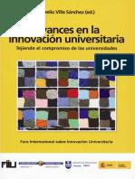 Avances en La Innovación Universitaria
