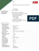 1KGT011500R0001-560foc40-optical-coupler-850-nm