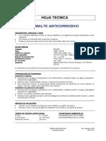 Ficha Tecnica Esmalte Anticorrosivo