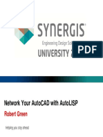 Network Your AutoCAD With AutoLISP