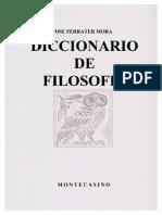 José Ferrater Mora - Diccionario Filosófico A.pdf