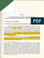 BERCOVICI, G. Desigualdades Regionais, Estado e Constituição. São Paulo.  CAP 3