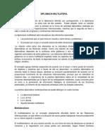Diplomacia Multilateral Oficial