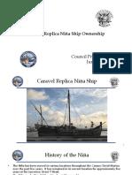 Presentation - Caravel Replica Niña Ship (1)