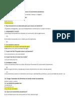 Grupo 11 - Cuestionario de Bacteriologia
