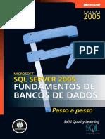 Microsoft SQL Server 2005 - Fundamentos de Banco de Dados