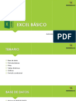 Capacitacion Excel Básico