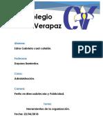 Herramientas de La Organizacion (2)