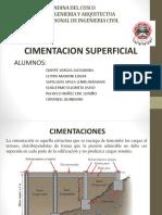 Diapositiva de Cimentaciones Superficiales